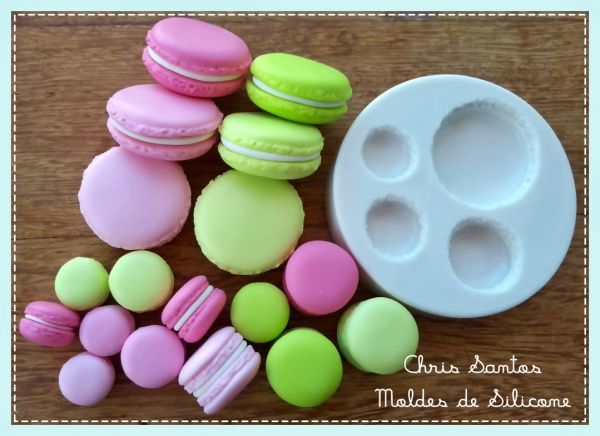 Molde Kit Macarons by Bee